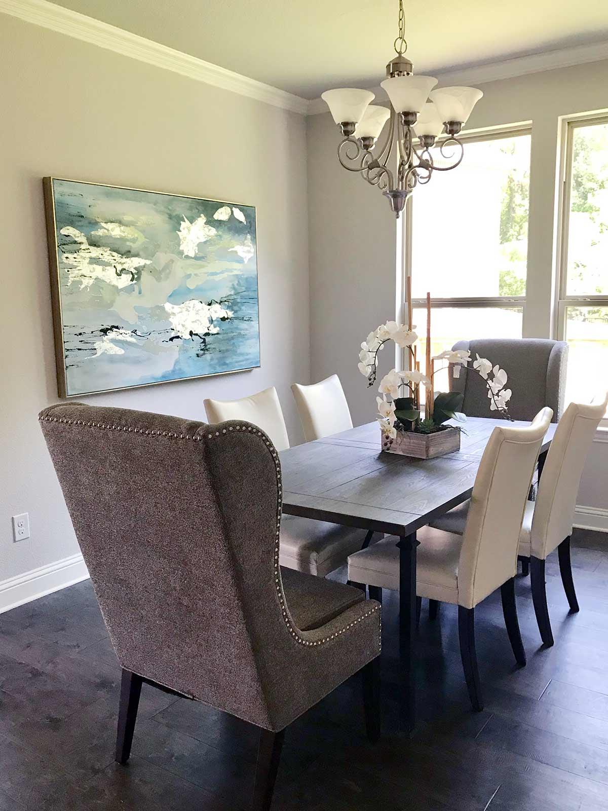 Model Home Apartment Staging